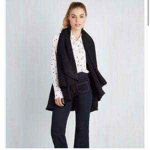 Modcloth Head to Macchiato Knit Vest Cardigan OS